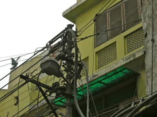 Réseau electrique Inde Delhi 0