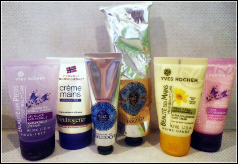 Crèmes mains anti-froid !