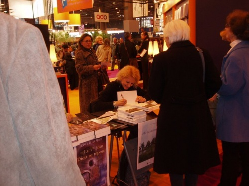 Dédicaces Catherine Carrère Romancière 2011