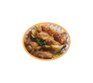 37 poulet grillé à l'origan