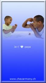 Mini tag Papa