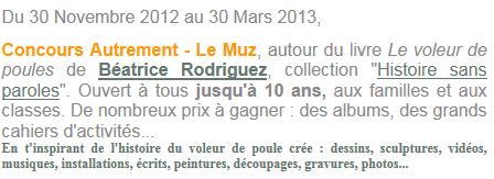Concours Autrement /Le Muz