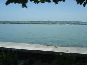 rive du Balaton de Tihany à Keszthely