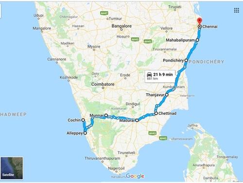Inde du Sud 2019