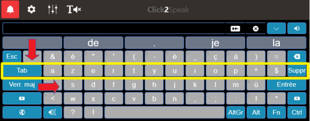 Click2Speak : un fabuleux nouveau clavier virtuel