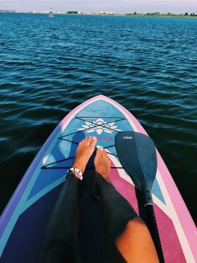 Paddle boarding! #ivorycoverentals #destinflorida #florida #travel ...