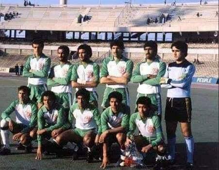 BENCHEIKH Ali CAN 1982 Match de classement