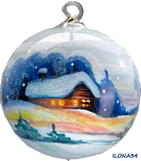 Tube Boule de Noël