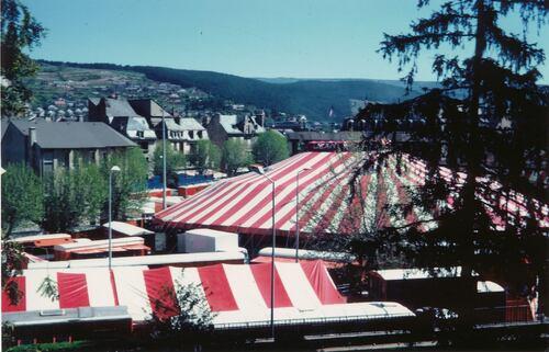 Le cirque Jean Richard à Mende le 4 juin 1981 ( archives Alain Gibelin) - 2ième partie