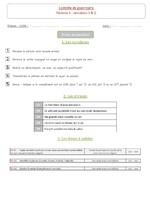 Rituels grammaticaux pour 6èmes - évaluation