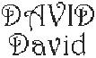 Dictons de la St David+ grille prénom  !