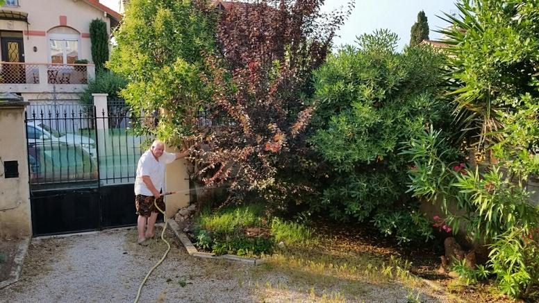 MARSEILLE - Mamiekéké et Cricri d' amour .... Nouvelles fraiches du jardinet .