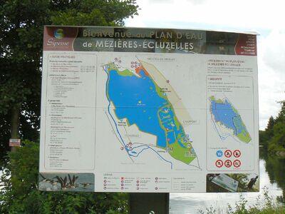 Le plan d'eau de Mézières-Ecluzelles