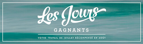 Les Jours Gagnants (promotion Stampin'Up! )