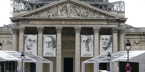 En direct du Panthéon