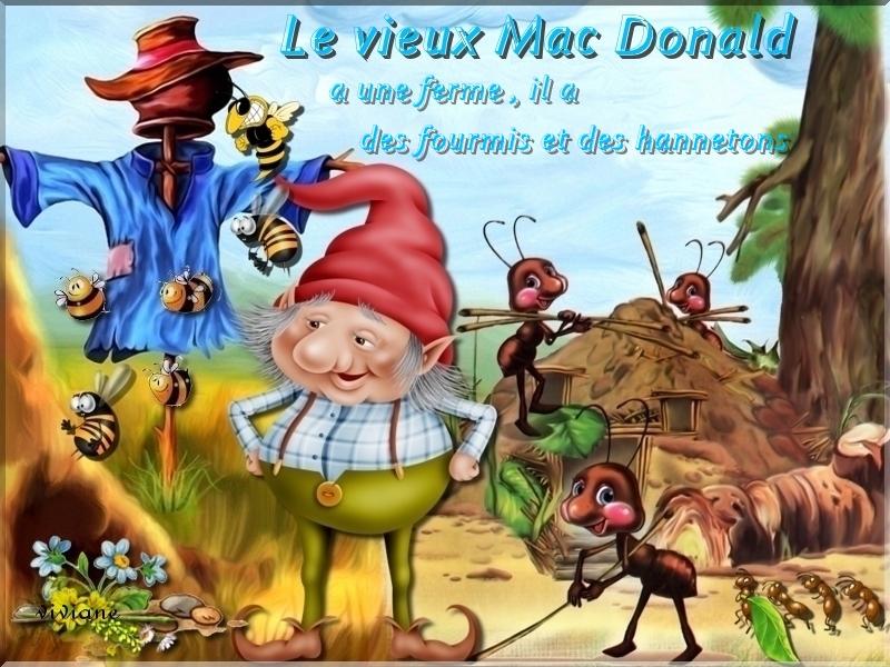 Le vieux Mac Donald a une ferme défi de Marjolaine