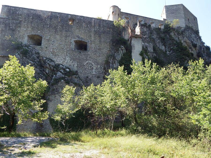la Citadelle d'Entrevaux dept 04  (2)