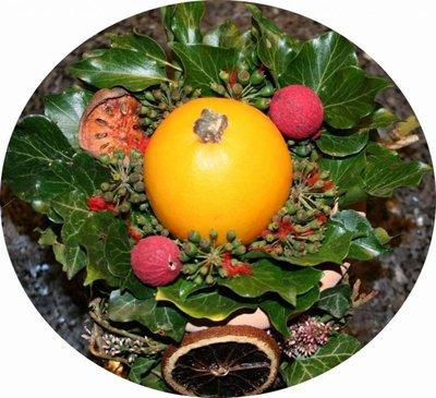 Blog de lisezmoi :Hello! Bienvenue sur mon blog!, Quelques idées de centres de table à réaliser dans des pots en terre , joli , non ?