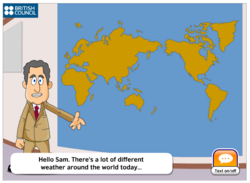 Weather in the world!