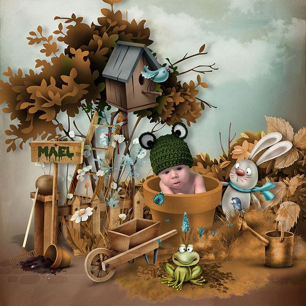 JE JARDINE by Kitty Scrap