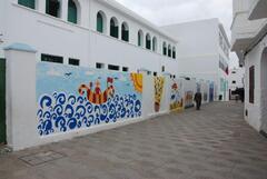 Fresque d'une école
