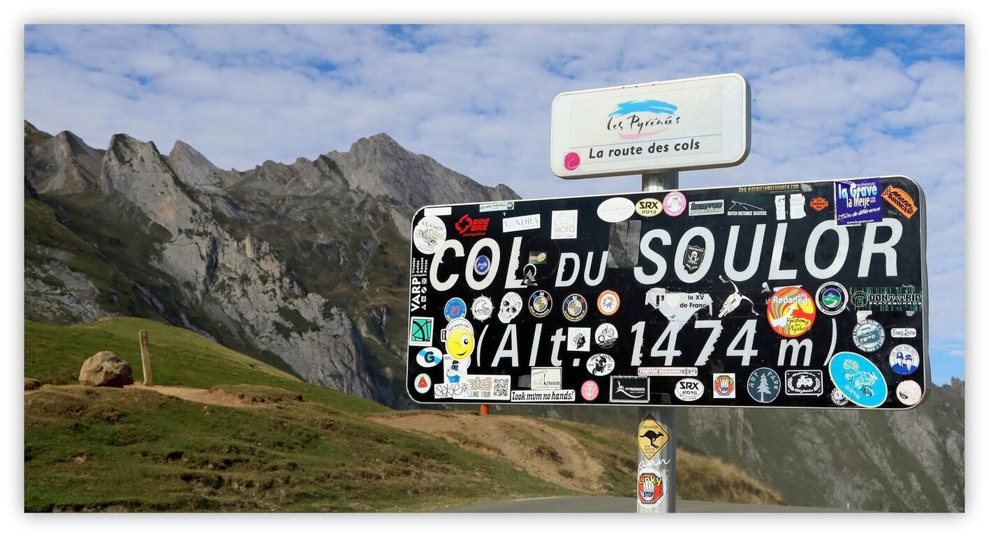 Sur la route du Col du Soulor (Hautes-Pyrénées - Septembre 2016)