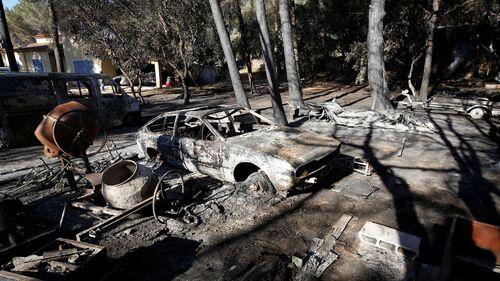 Pillage pendant les incendies à Vitrolles