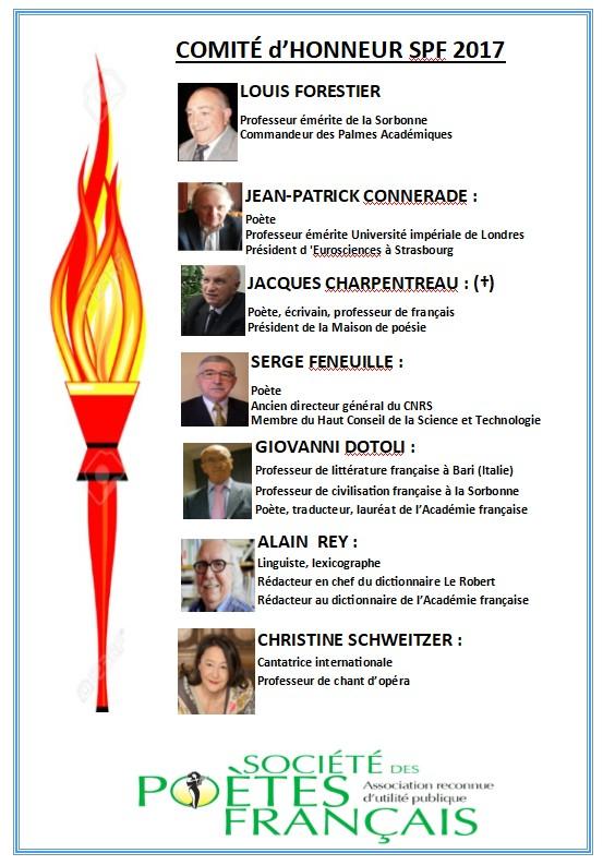 Comité d'Honneur