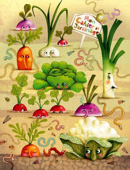 chanson des légumes ...