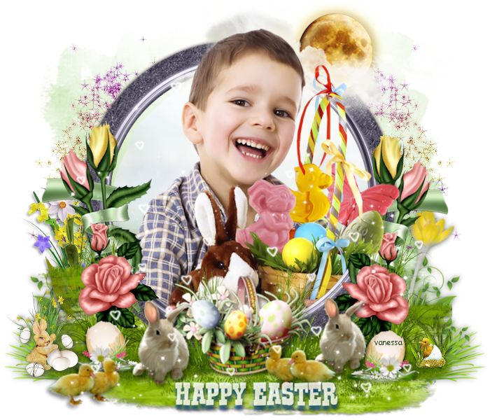 Tutos 1 - Happy easter