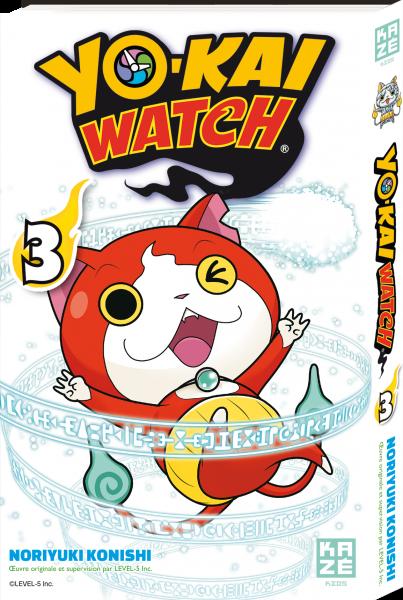Yo-kai watch - Tome 03 - Noriyuki Konishi