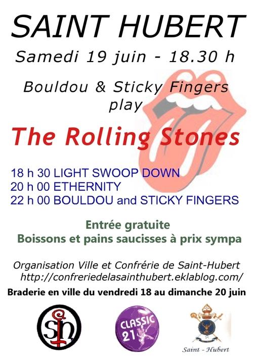 Les fêtes de la musique à Saint Hubert, le 19 juin 2010