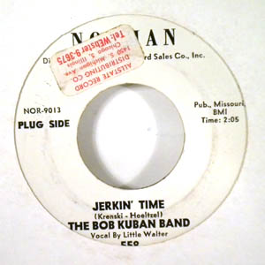 BOB KUBAN & THE IN MEN - jerkin' time