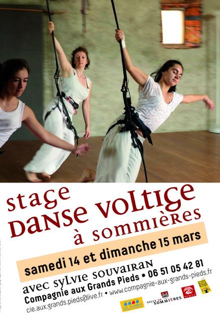 - Stage de danse voltige