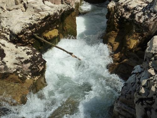 25 juin 2015 - La Roque sur Cèze - Les cascades du Sautadet