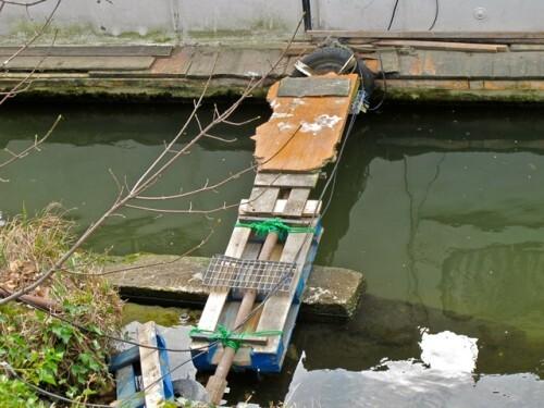pont bricolé