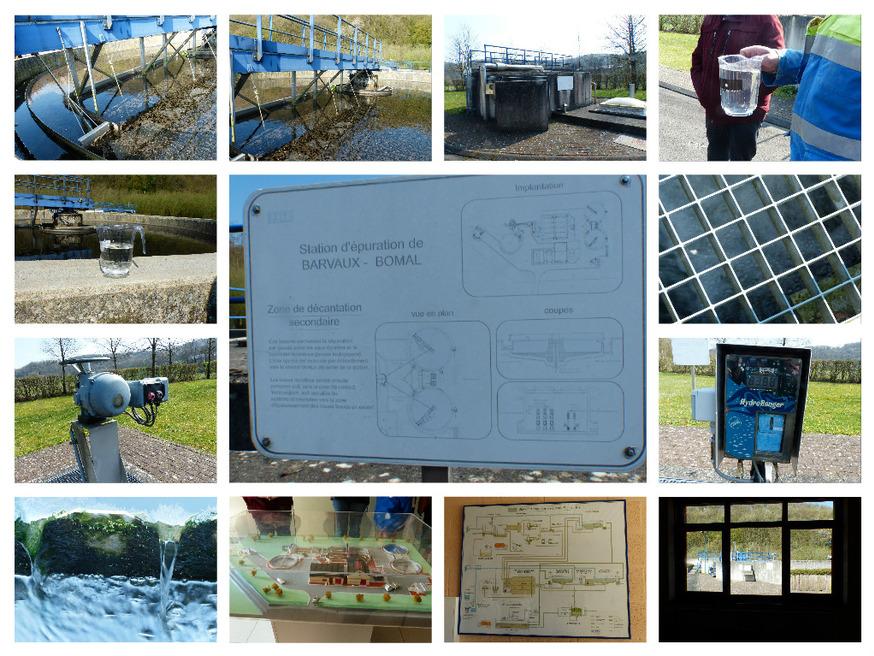 Visite de la station d'épuration de Bomal S/O