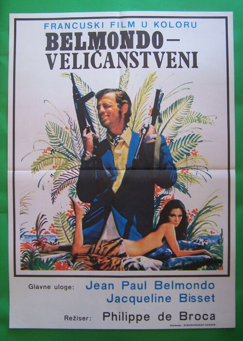 LE MAGNIFIQUE - BOX OFFICE JEAN-PAUL BELMONDO  1973