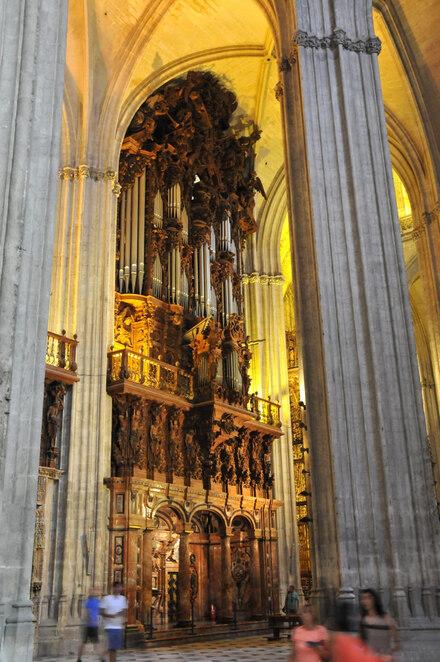 Séville : la cathédrale