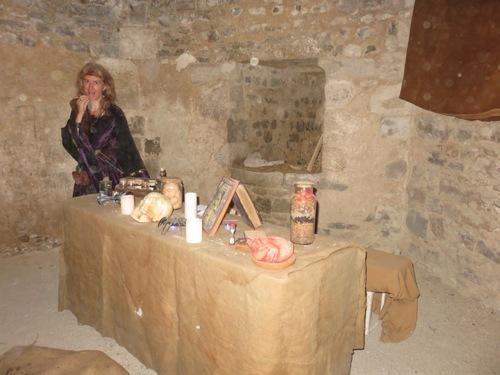 À Yèvre-le-châtel, fête médiévale
