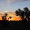 Mauritanie Route de l'Espoir Lever du jour dans le désert