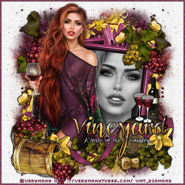 "Tutoriel ""Red wine"" de Liligraph"