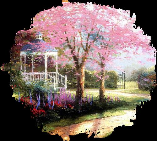 Paysage printemps / 3