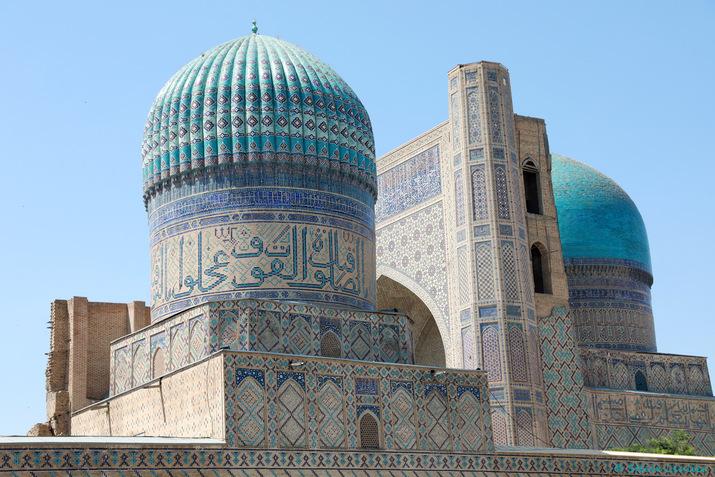 Mosquée Bibi Khanoun, Samarcande, Ouzbékistan 2019