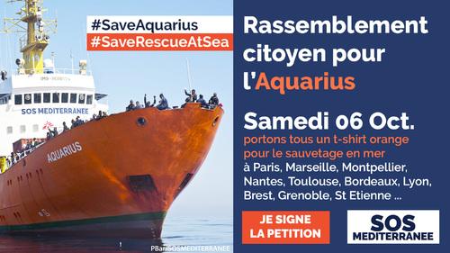 Sauvons l'Aquarius et le sauvetage en mer !