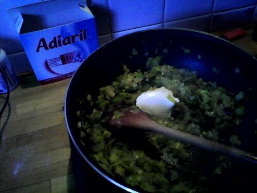 Feuilletés poireaux chèvre...pour finir ma pâte feuilletée