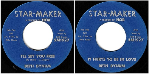 BETH BYNUM - STAR-MAKER Records 5M1927 - 1962