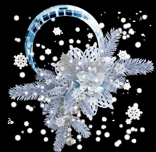Cadres et Clusters de Noël Série 18