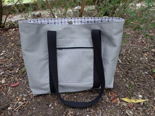 Coudre un sac shopping de taille moyenne