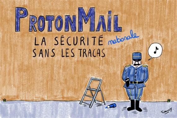 Réputé sûr, Protonmail a livré à la police des informations sur des militants climat (reporterre-9/09/21)